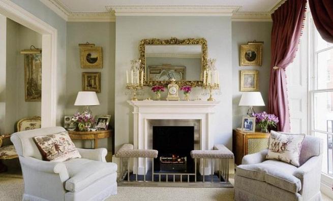 Estilo clasico for Decoracion de interiores clasico elegante