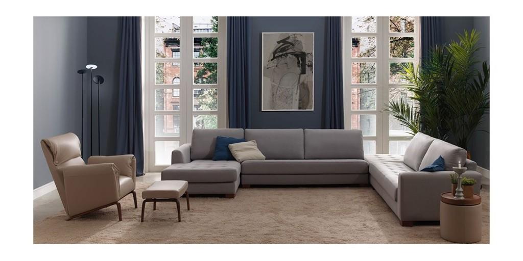 Sofas moderno con descuento Mobel 6000