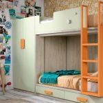 Cómo aumentar el espacio de su habitación con una litera