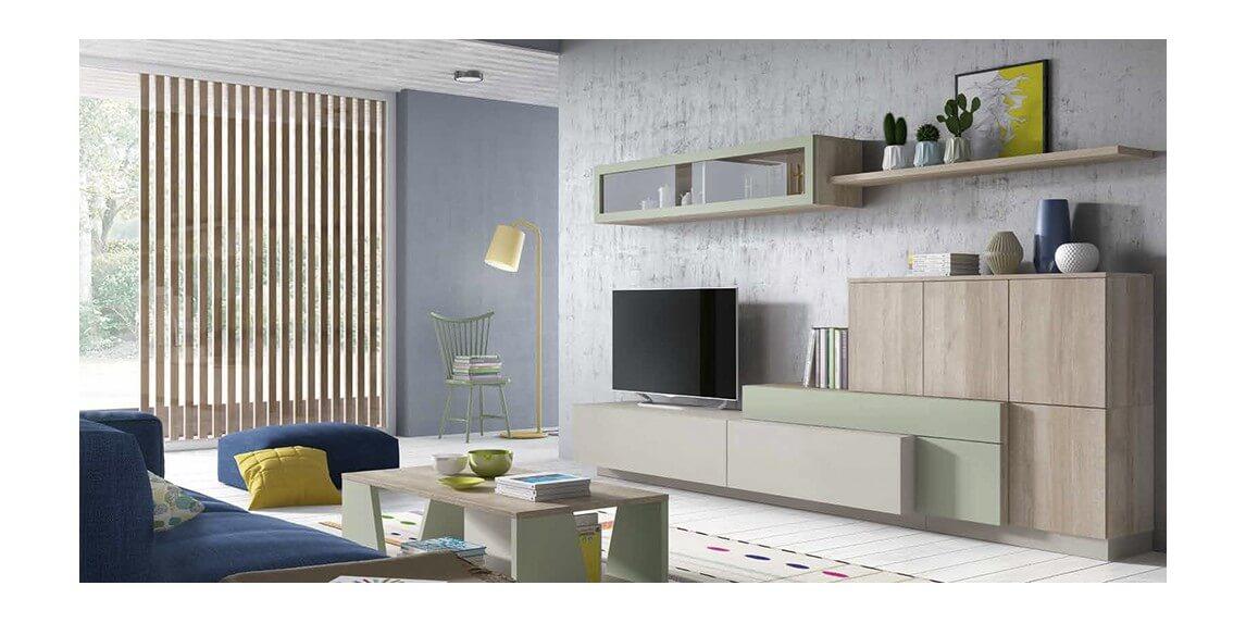 salón estilo moderno