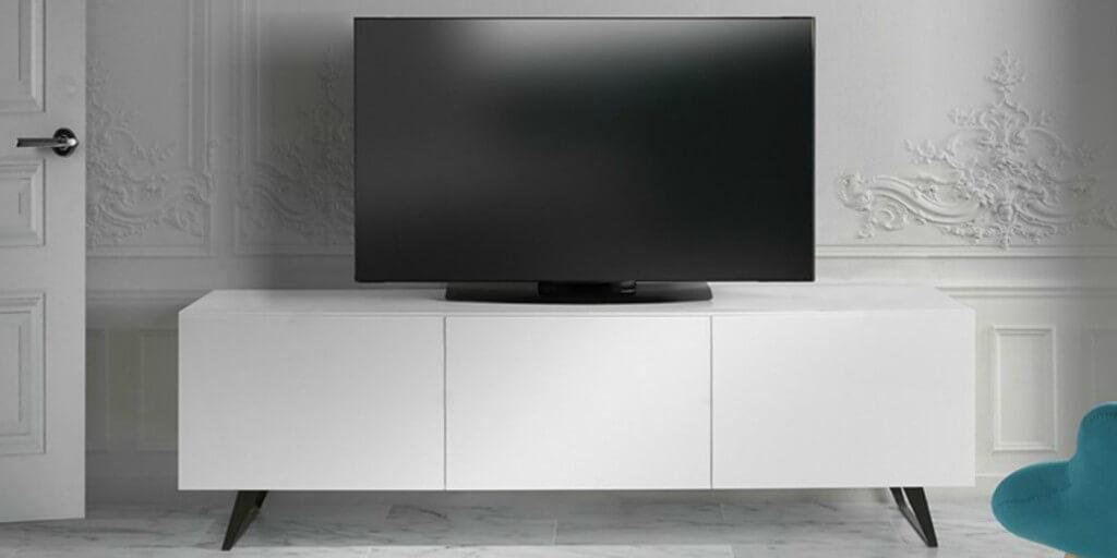 Cómo debe ser el mueble donde irá tu televisión portada