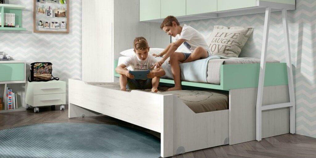 Qué es mejor una cama nido o una cama compacta