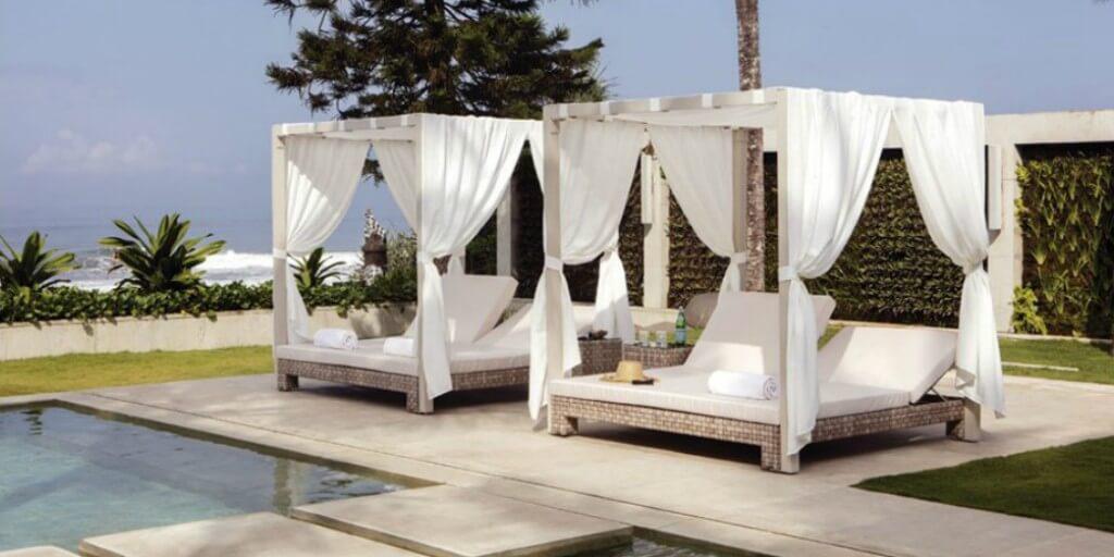 Consigue una zona chill out comprando una cama balinesa imagen