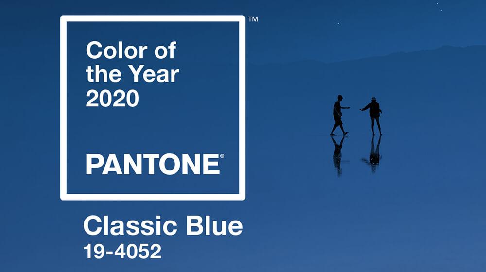 Classic blue 19-4052, el color para 2020 según Pantone