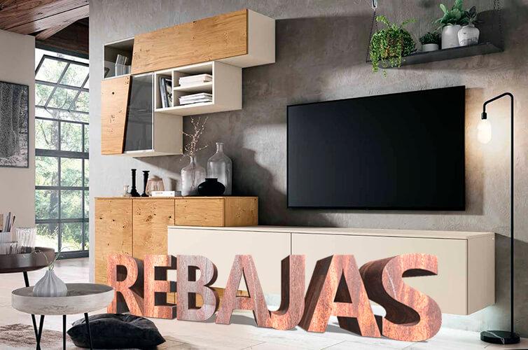 Rebajas del 20% de descuento en muebles de salón en Mobel 6000 del 7 de enero al 29 de febrero