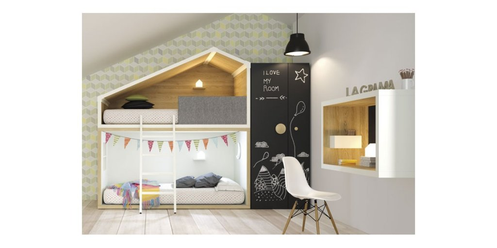 Litera casita Cottage de Lagrama