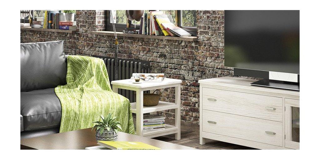 Mesa auxiliar de diseño clásico Cerdeña de Grupo Seys personalizable