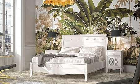 Dormitorio clásico y de forja