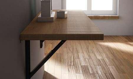 Mesa de cocina abatible
