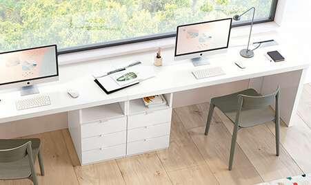 Mueble para zona estudio